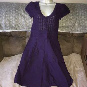 Allora size large purple dress 💕